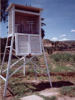 Estación meteorológica Yotala - Chuquisaca